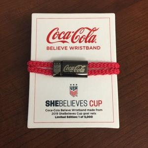 USWNT Limited Edition Coca-Cola Believe Wristband